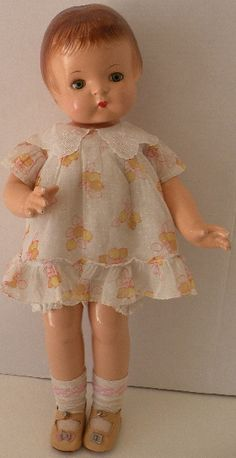 ANTIQUE DOLL ADDICTION on Ruby Lane http://www.rubylane.com/item/669283-913/19-Patsy-Ann-Effanbee #effanbee