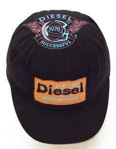 Diesel designer Baseball Cap adjustable hat black new men womans clothing 197