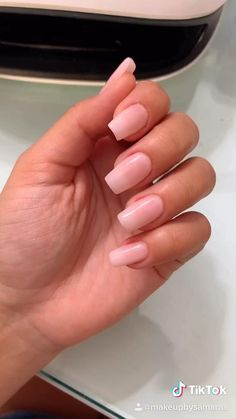 Nude Nails, White Nails, Pink Nails, Coffin Nails, Classy Nail Designs, Pink Nail Designs, Acrylic Nail Designs, Nails Design, Bright Summer Acrylic Nails