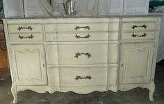 PAINT to ORDER French Country Sideboard Buffet by poppycottage, $695.00