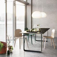 Svenssons i Lammhult - Möbler - Taklampor / Fluid pendel / Ø42 cm, vitt opalglas