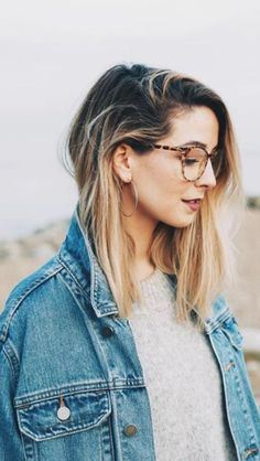 Quiz: Which Zoella Trait Do You Share? Tigerbeat New Hair Cut zoella new haircut Ombre Highlights, Hair Inspo, Hair Inspiration, Zoella Hair, Zoella Beauty, Zoe Sugg, Oversized Denim Jacket, New Haircuts, Cute Hairstyles