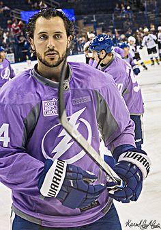 Ryan Callahan Tampa Bay Lightning Hockey Fights Cancer Night