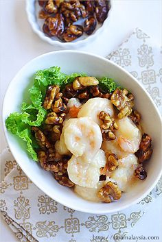 Honey Walnut Shrimp Recipe. You can make this at home by following this recipe. #shrimp #chinesefood