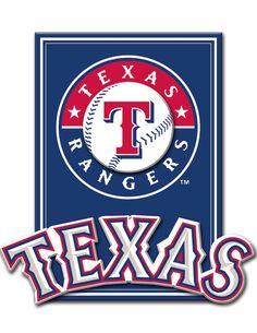 Texas Rangers 3D plaque (Target)