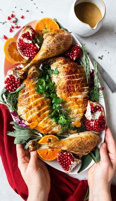It's turkey time! Our has you covered w/ this Dry-Brined Spatcocked Roast Turkey. Hint: It only takes 85 minutes to cook! Spatchcock Turkey Recipe, Turkey In Oven, Thanksgiving Turkey, Thanksgiving Desserts, Christmas Desserts, Christmas Turkey, Christmas Lunch, Merry Christmas, Fresh Turkey
