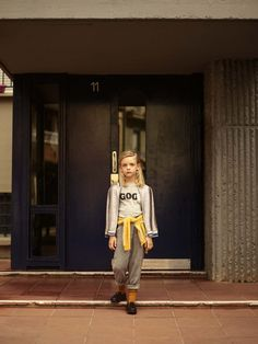 Kids from the 90's, an editorial by Raul Ruz. Bellerose Fall Winter'16 collection.