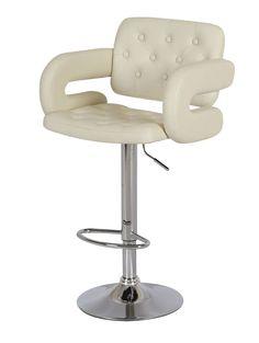 Beige Barber Salon Office Chair Pu leather Stool Swivel Home Studio Stools Cream Leather Stool, Pu Leather, Stools For Sale, Modern Stools, Home Studio, Furniture Sets, Beige, Kitchen, Cream