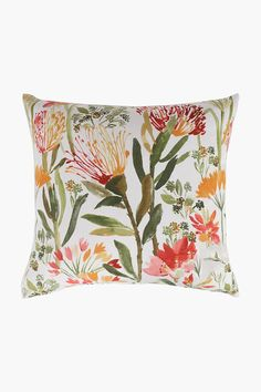 Woven Pincushion Scatter Cushion Cover, 50x50cm - Shop New In - Home D Scatter Cushions, Pin Cushions, Home Decor Shops, Botanical Prints, Tapestry, Cover, Fabric, Design, Hanging Tapestry