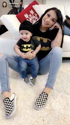 and baby son – Kids Fashion Mother Son Matching Outfits, Mom And Son Outfits, Baby Boy Outfits, Baby Boy Fashion, Toddler Fashion, Kids Fashion, Mommy And Son, Foto Baby, Cute Baby Boy