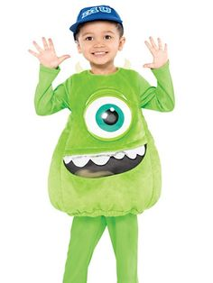 Monster's Inc Mike Halloween Costume http://www.ivillage.com/movie-halloween-costumes-kids/6-a-549476?cid=tw|10-15-13