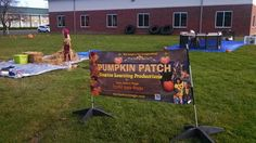 Our Creative Learning show Pumpkin Patch set up! Learn more at davejeffersmagic.com