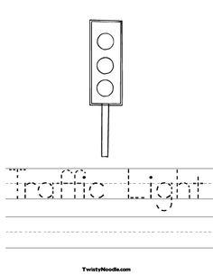 Printable Worksheets On Traffic Lights Jetdigitalprintingcom Home
