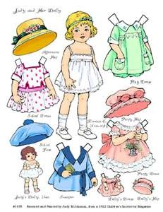 Paper dolls. I used to spend hours playing with paper dolls.