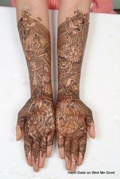 Harin Dalal Bridal Mehendi Artist Info & Review | Mehendi in Mumbai,Surat | Wedmegood