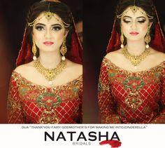 Beautiful and lovely bride, makeup by Natasha beauty salon
