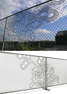 Lace Fence, by Demakersvan. superb product! check out lacefence.com