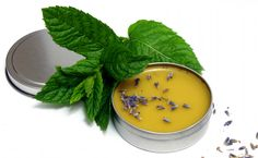 Perfect for hands, body and lips, this DIY lavender mint balm recipe is made from natural lavender and mint infused oil and raw, unfiltered beeswax.