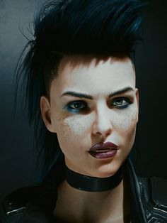 Cyberpunk Fashion, Cyberpunk 2077, Cyberpunk Character, Digital Art Girl, Shadowrun, Character Portraits, Character Design Inspiration, Rogues, Erotica