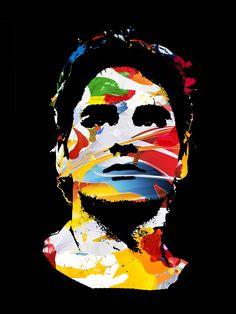 Roger Federer #rogerfederer #federer #tennisart