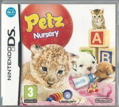 Petz: Nursery Nintendo DS (plays in Newborn Animals, Baby Animals, Nintendo Ds Pokemon, Pokemon Pokemon, Ds Games For Girls, Video Game Memes, Nintendo Switch Games, Geek Girls, Gaming Memes