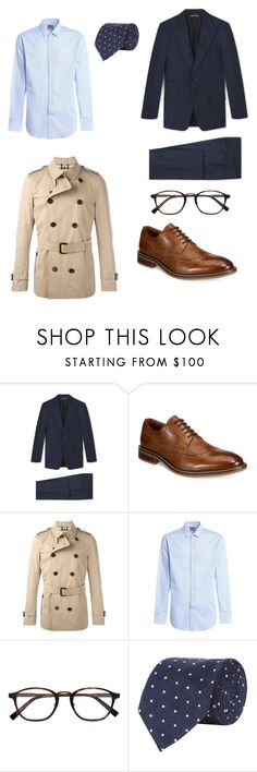 """Unbenannt #1"" by harryg-1 ❤ liked on Polyvore featuring Alfani, Burberry, Armani Collezioni, Ermenegildo Zegna, Tom Ford, men's fashion and menswear"