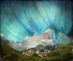 """An den Bergen hing die Nacht"" by Christian Schloe"