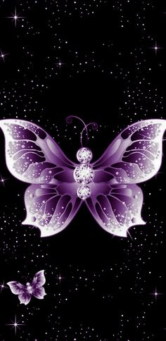 By Artist Unknown. Purple Butterfly Wallpaper, Dragonfly Wallpaper, Bling Wallpaper, Locked Wallpaper, Cellphone Wallpaper, Colorful Wallpaper, Wallpaper Backgrounds, Screen Wallpaper, Wallpaper Ideas