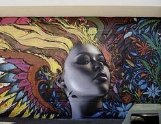 Vẽ tranh tường Graffiti tại TP.HCM trang trí quán cafe nổi bật và cá tính với những bức graffiti độc đáo, 1 không gian với nhiều màu sắc sặc sỡ tươi vui