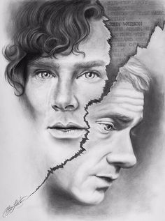Pressure Point - Sherlock art by MLH musingmayhem<----Such pure talent, amazed by people's gifts.