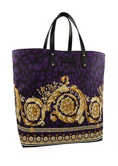 Versace - Barocco Animalier Tote Bag
