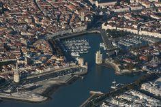 ✈️ Photo aérienne de : La Rochelle - Charente-Maritime (17)