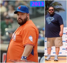 The king of Hollywood comedy has had a lot of struggle with his weight management over the past few years. Let`s see Kevin James` weight loss story. Weight Loss Help, Lose Weight, Acai Berry Diet, Big Men, Big Guys, Free Diet Plans, Kevin James, Chubby Men, Low Cholesterol Diet