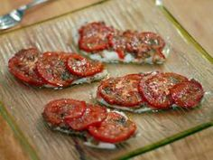 Fish with Tomatoes and Green Olive Tapenade Recipe : Laura Calder : Recipes : Cooking Channel Fish Recipes, Seafood Recipes, Appetizer Recipes, Vegetarian Recipes, Dinner Recipes, Cooking Recipes, Appetizers, Keto Recipes, Dinner Ideas