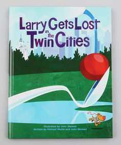 Take a look at this Larry Gets Lost in the Twin Cities Hardcover by Random House on #zulily today!