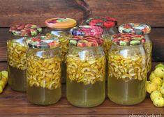 Mason Jars, Vegetables, Syrup, Canning Jars, Vegetable Recipes, Glass Jars, Veggies, Jars