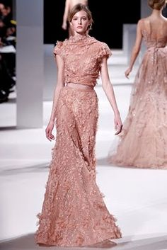 elie saab couture collection spring 2011