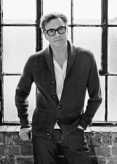 Colin Firth     Elle Magazine, March 2015 - photo by Robert Harper