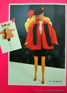 Alta Costura catálogo Barbie Estrela de 1990