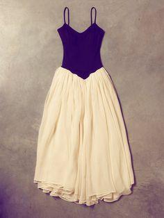 '70s Norma Kamali Ballerina Dress || Free People Vintage