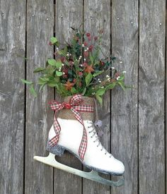Country cottage ice skate