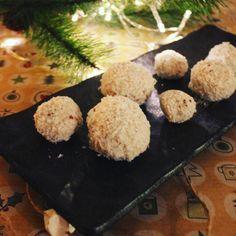 Bolitas de nieve receta BLW sin azucar y sin lacteos