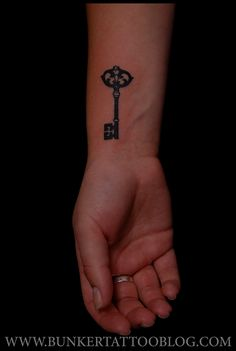 Key tattoo smaller though @Kelsey Riggins