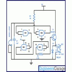 remote control for devices using cell phone electronic circuits rh pinterest com Car Alarm Schematic Alarm Circuit