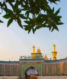 Holy shrine of hazrat Abbas as