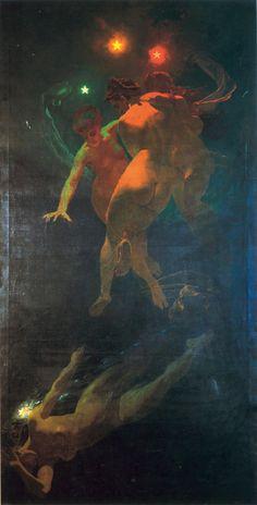 Mihály Zichy : Shooting Stars , 1879