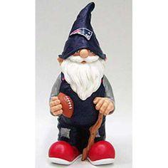New England Patriots NFL 11 Garden Gnome