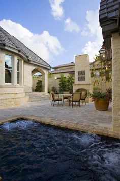 Hot Tub and Patio