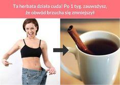Ta herbata działa cuda! Po 1 tyg. zauważysz, że obwód brzucha się zmniejszył Dieta Fitness, Health Fitness, Loose Weight, I Love Food, Fat Burning, Health And Beauty, Smoothies, Bodybuilding, Food And Drink