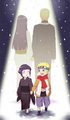 Notice: Hinata starts out in black, and Naruto in color. Then it switches. After all Naruto did unintentionally to save Hinata, she finally did the same for him. Naruto Shippuden Sasuke, Naruto Kakashi, Anime Naruto, Naruto Comic, Naruto Cute, Hinata Hyuga, Otaku Anime, Boruto, Naruto Wallpaper